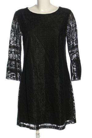 Yumi Koronkowa sukienka czarny W stylu casual