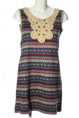 Yumi Knitted Dress allover print elegant