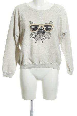 Yumi Sweatshirt imprimé avec thème style décontracté