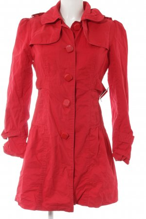 Yumi Trenchcoat rouge style décontracté