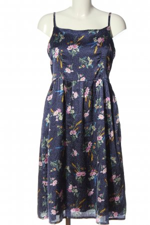 Yumi A-Linien Kleid Allover-Druck Casual-Look