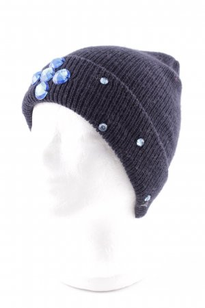 Knitted Hat blue casual look