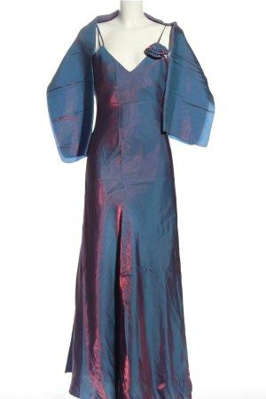 Yves Calin Abendkleid blau-pink Farbverlauf Elegant
