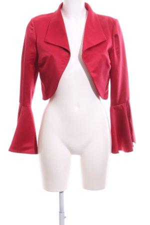 Yves Calin Kurz-Blazer rot Elegant