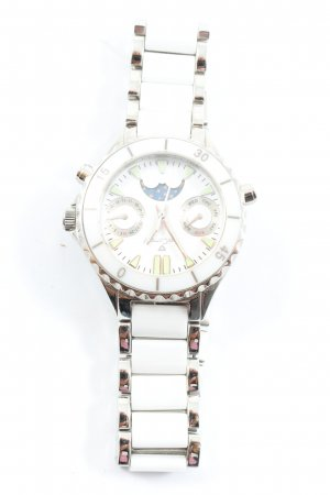 Yves Camani Analog Watch white-silver-colored casual look