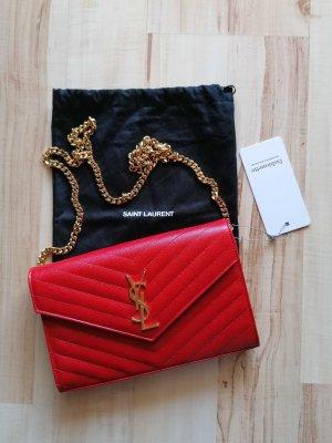 Yves Saint Laurent Crossbody bag brick red