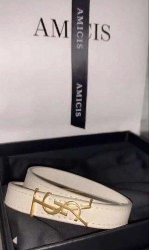 Yves Saint Laurent Bracelet crème-blanc cassé