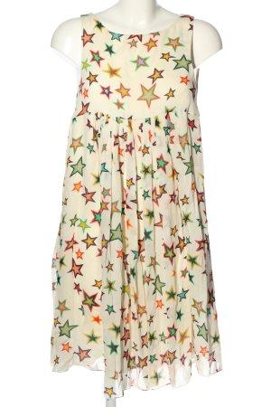 Yves Saint Laurent Sukienka typu babydoll Na całej powierzchni Elegancki