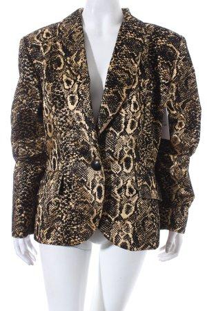 Yves Saint Laurent Blazer schwarz-goldfarben extravaganter Stil