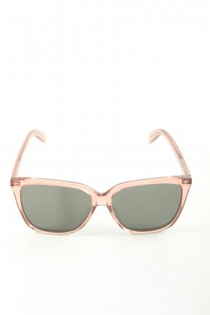 Yves Saint Laurent Brille goldfarben Casual-Look