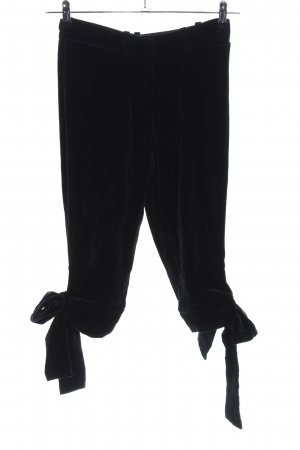 Yves Saint Laurent Caprihose schwarz Casual-Look
