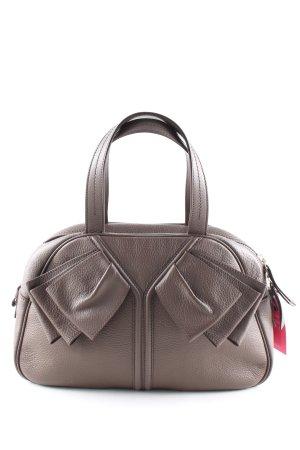 Yves Saint Laurent Henkeltasche braun Business-Look