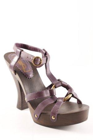 Yves Saint Laurent High Heel Sandaletten mehrfarbig Party-Look