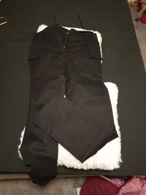 Yves Saint Laurent Pantalón pitillo negro