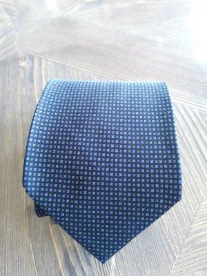 Yves Saint Laurent Cravate ascot bleu-bleu azur