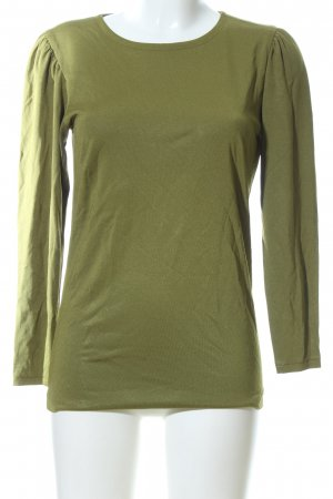 Yves Saint Laurent Longsleeve khaki Casual-Look
