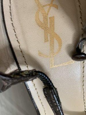 Yves Saint Laurent Hoge hakken sandalen paars