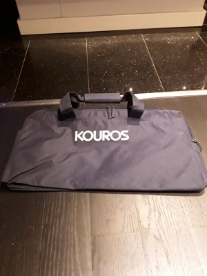 Yves Saint Laurent Bolsa de gimnasio azul oscuro