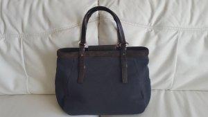 Yves Saint Laurent Stoff/Leder Tasche. Original