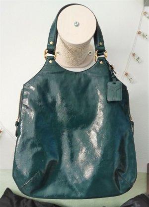 Yves Saint Laurent Tribute Bag Large  Dunkel Grün