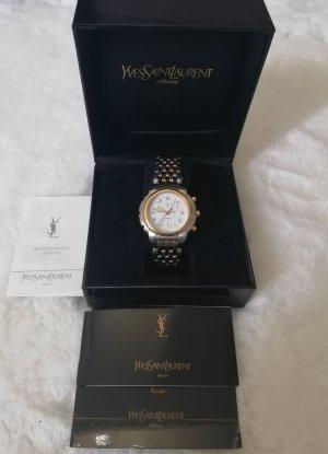 Yves Saint Laurent Uhr Gold/Silber Unisex