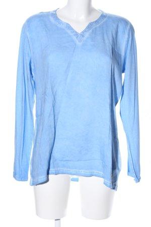 Longsleeve blau Casual-Look