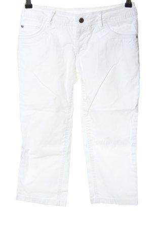 Zabaione 7/8 Jeans weiß Casual-Look
