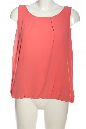 Zabaione ärmellose Bluse pink Casual-Look
