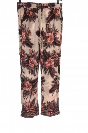 Zabaione Baggy Pants flower pattern casual look
