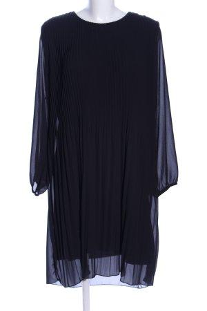 Zabaione Blusenkleid schwarz Casual-Look