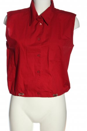Zabaione Blouse topje rood casual uitstraling