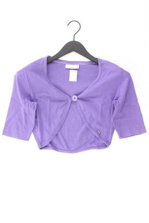 Zabaione Knitted Cardigan lilac-mauve-purple-dark violet cotton