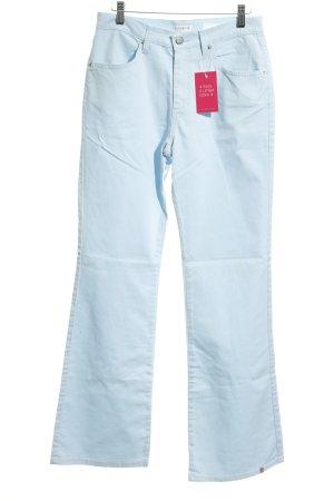 Zabaione Boot Cut Jeans himmelblau schlichter Stil