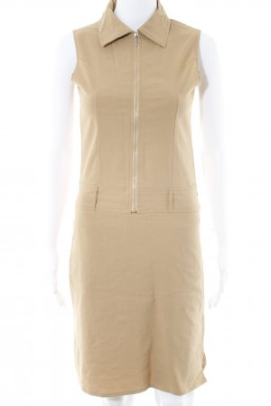 Zabaione Cargo Dress camel casual look