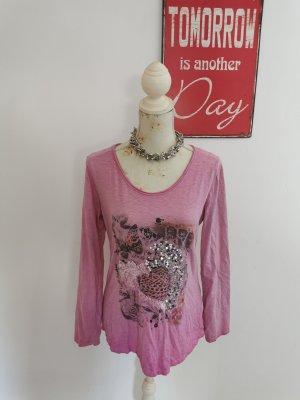Zabaione Longsleeve pink-pink cotton