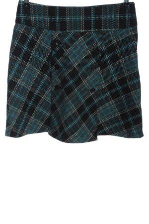 Zabaione Flared Skirt black-blue allover print casual look