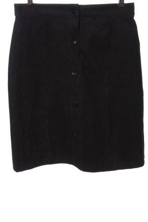 Zabaione Flared Skirt black casual look