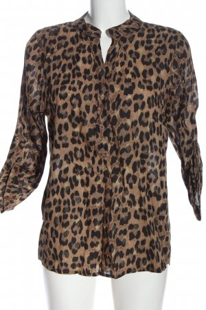 Zabaione Shirt Blouse leopard pattern casual look