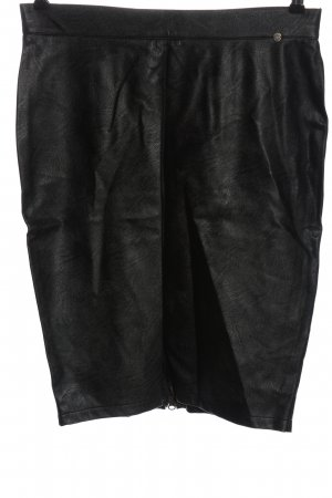 Zabaione High Waist Skirt khaki-black flecked casual look
