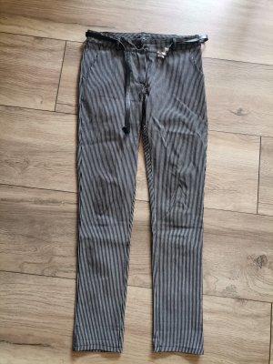 Zabaione Jersey Pants white-black