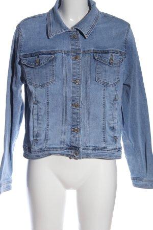 Zabaione Veste en jean bleu style décontracté