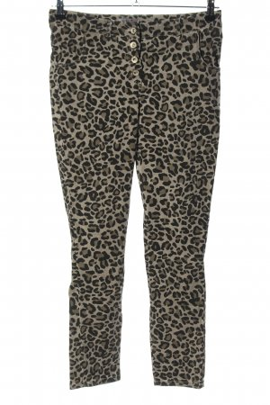 Zabaione Jeggings Animalmuster Casual-Look