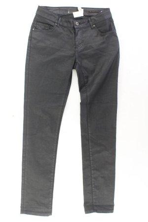 Zabaione Five-Pocket Trousers black cotton