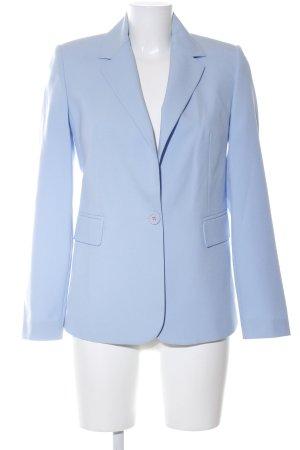 Zabaione Korte blazer blauw zakelijke stijl