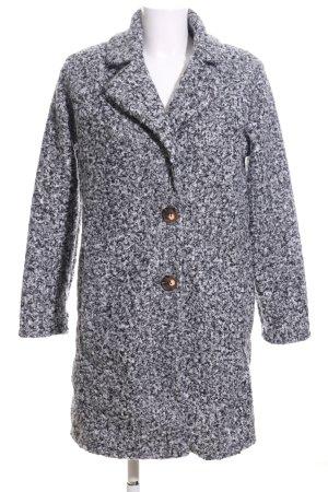 Zabaione Short Coat light grey flecked casual look