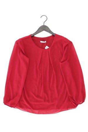 Zabaione Langarmbluse Größe XS rot aus Polyester