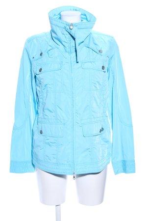 Zabaione Lange Jacke blau Business-Look
