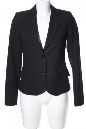 Zabaione Long-Blazer schwarz Business-Look
