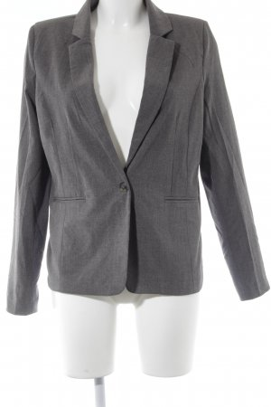 Zabaione Long-Blazer grau Casual-Look