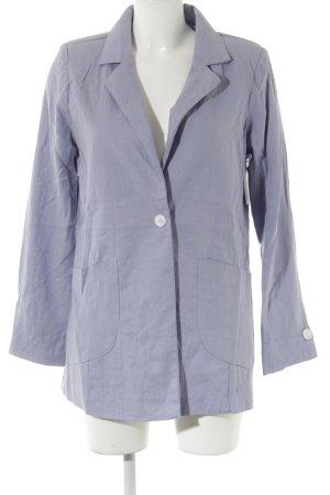Zabaione Lange blazer azuur casual uitstraling